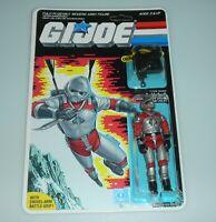 *RECARDED* 1986 GI Joe AVAC v1 Figure Complete Sealed *CUSTOM File Card Back*