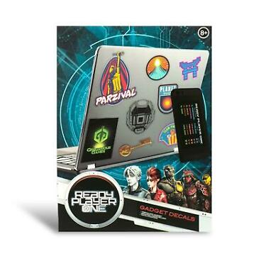 Ready Player One Vinyl Gadget Decal Sticker Pack
