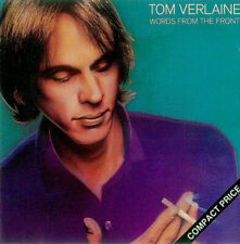 Tom Verlaine ‎– Words From The Front CD (1989)