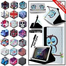 FOLIO LEATHER STAND CASE COVER For Various ARCHOS 70 70b 70c Tablet + STYLUS
