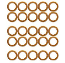 25x M10 Standard Copper Washers for HEL Braided Clutch Brake Hoses stainless