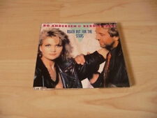 Maxi CD Bo Andersen & Bernie Paul - Reach out for the stars - 1988 - RARE