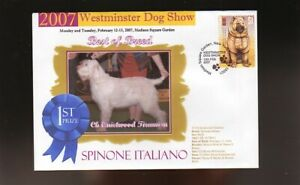 W/M DOG SHOW BEST of BREED COVER, SPINONE ITALIANO