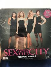 Sex in the City Platinum Edition Trivia Game HBO Black Tin Box Cardinal
