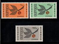 Cyprus 1965 Mi. 258-260 MNH 100% Europe CEPT