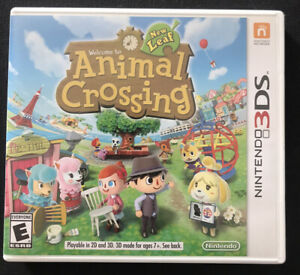 Animal Crossing New Leaf Case & Artwork Only (Nintendo 3DS) NO GAME