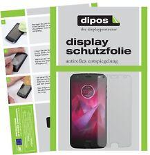 2x Lenovo Moto Z2 Play Schutzfolie matt Displayschutzfolie Folie Display Schutz