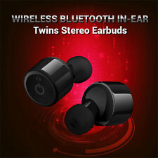 Wireless Bluetooth 4.2 Earphone Earbud Headphone Stereo Bass Headset For iPhone7