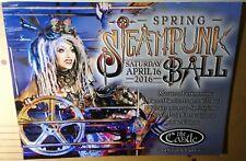 GEN of GENITORTURERS Rare 2016 Spring SteamPunk Ball CONCERT GIG POSTER no-cd/lp