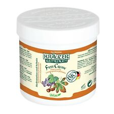 Foot cream for blood flow stimulation, with grapes and BIO herbs Kräuter®