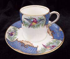 Vintage Aynsley Scala Bird Pattern Coffee Cup & Saucer