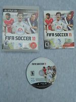 FIFA Soccer 11 (Sony PlayStation 3, 2010) Disc Book Case - Complete