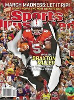 Sports Illustrated Magazine Braxton Miller Football March Madness Young Coaches