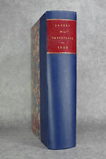 CARNET DE LA SABRETACHE. 1909. DEUXIEME SERIE. HUITIEME VOLUME.