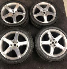California and Cali-T Diamond Finish Wheel set with Snow Tires
