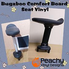 bugaboo komfort wheeled board sitz pole vorgestanzten vinyl-schwarz