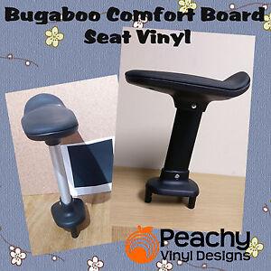 Bugaboo Comfort Wheeled Board Seat Pole Pre-Cut Vinyl - BLACK