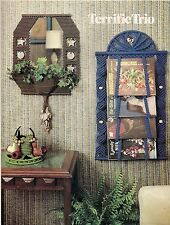 Magazine Rack, Mirror & More Patterns - Craft Book: #GM2 Macrame with a Purpose