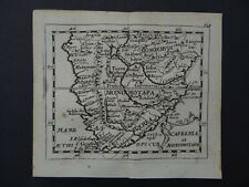 1685 DU VAL  Atlas map  SOUTH AFRICA - Cafreria et Monomotapa -  Duval
