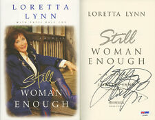 Loretta Lynn SIGNED Still Woman Enough Book HC 1st/1st RARE PSA/DNA AUTOGRAPHED