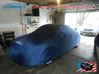 Premium Satin Stretch Indoor Tailored Car Cover for Audi R8 from Coverking