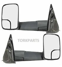 2002 - 2008 Dodge Ram Flip up Towing Mirrors with Power and Heat (both)