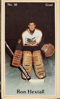 1983/84 Brandon Wheat Kings Complete Team Set Ron Hextall Ray Ferraro