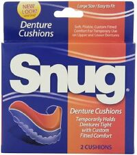 6 Pack Snug Denture Cushions 2 Each