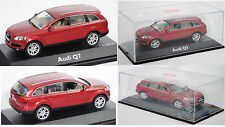 Schuco 450475100 Audi Q7 4.2 FSI quattro, granatrot perleffekt, 1:43