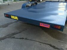 BRAND NEW CAR TRAILER 14X6.6FT TANDEM AXLE ALSO AVAIL 12 15 16FT BEAVER TILT