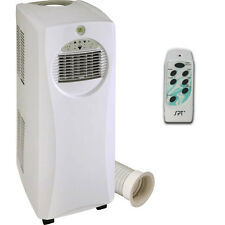 Slim Portable Air Conditioner & Electric Heater, Compact Slim Small Room AC Heat