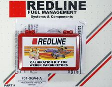WEBER 32/36 DGEV DGAV  Carb Jet Pack - High Altitude version for 4cly by REDLINE