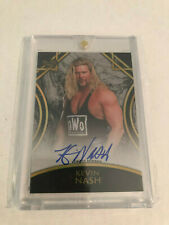 2018 Topps WWE Legends Kevin Nash Auto Black SSP #1/5