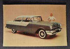 1955 Pontiac 860 2-Door Sedan Postcard Brochure Excellent Original 55