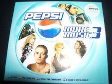 Pepsi More Music Volume 3 - 2 CD Delta Goodrem Kylie Minogue Christina Aguilera