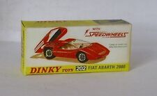Repro Box Dinky Nr.202 Fiat Abarth 2000