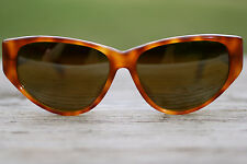 Vuarnet Tortoise Women's Sunglasses with Amber Warm Tint Lenses - Made in France