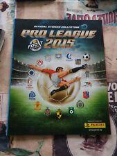 PANINI voetbal album image FOOTBALL België Belgique 2015 complet sticker à part