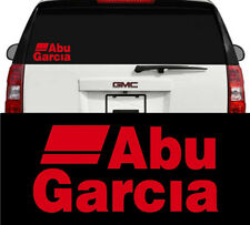 Abu Garcia Fishing Reels & Rods Outdoors Vinyl Decal Sticker Red 8 inch