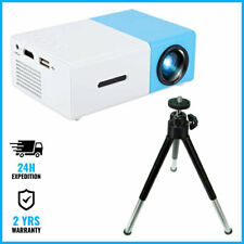Salange YG300 LED Projector + Mini Tripod - Mini Beamer Home Media Player Cinema