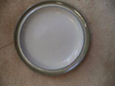 "Denby Grey Green 10"" Dinner Plate - Storm ??  Green outer edge"