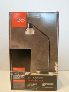 Studio 3B LED Desk Lamp with USB and AC Charging Station