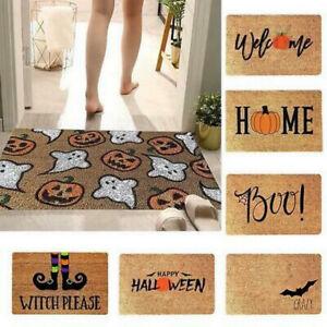 Halloween Door Mat Floor Door Mat Outdoor And Indoor Gnome Pumpkin Door Mat Home