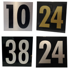 Custom Aluminum House Number Signs, Style, Colour, font and Size options!