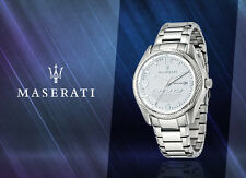 MASERATI R8853124002 SOLID STAINLESS STEEL GENTS DRESS WATCH