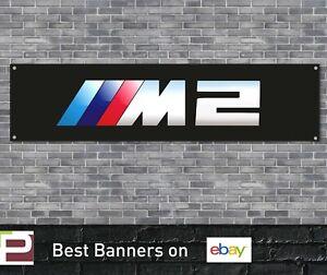 BMW M2 Banner for Garage, Workshop, office, showroom etc, Black msport, M3 etc