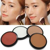 4 Color Matte Bronzing Face Tone Powder Compact Bronzer Contour Highlight Blush