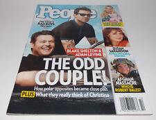People April 2012 Blake Shelton Adam Levine Magazine Cover Complete Issue