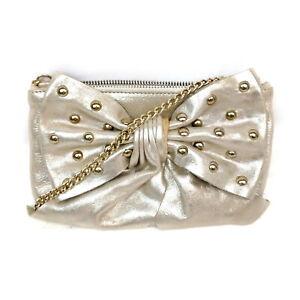 Red Valentino Shoulder Bag  Gold Leather 1424221