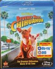 Beverly Hills Chihuahua (Disney Blu-ray/DVD, 2009, 2-Disc Set) Brand New Sealed